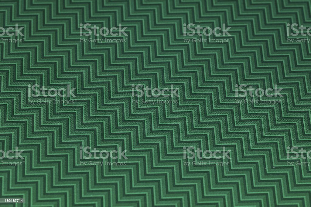 Green chevron patterned background stock photo