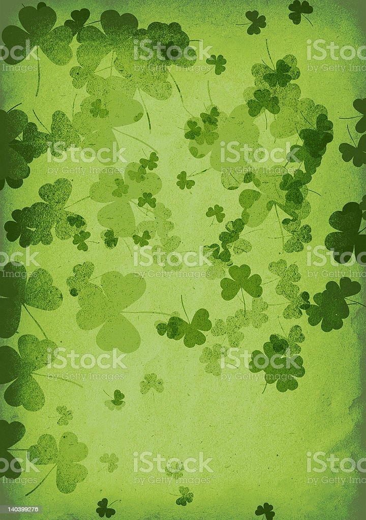 green clover medley royalty-free stock photo