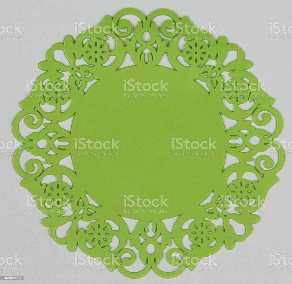 green coaster royalty-free stock photo