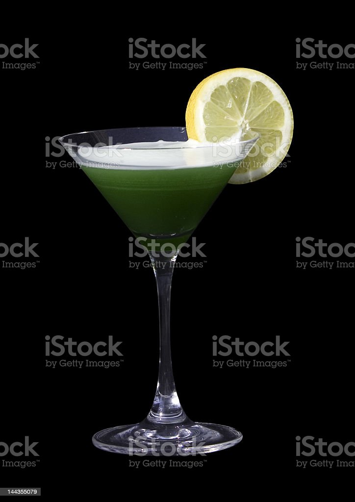 Green Cocktail royalty-free stock photo