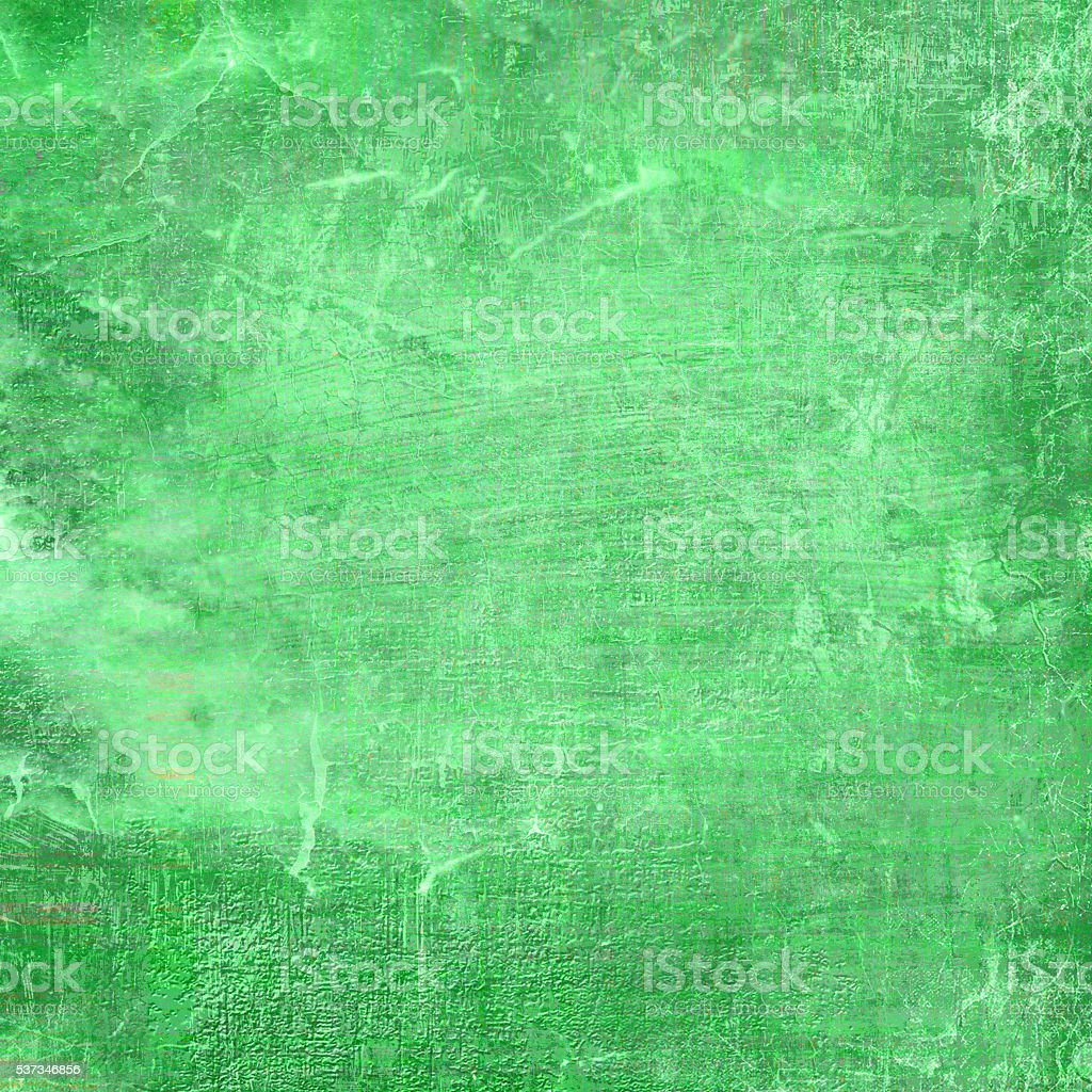 Green Color Grunge Texture stock photo