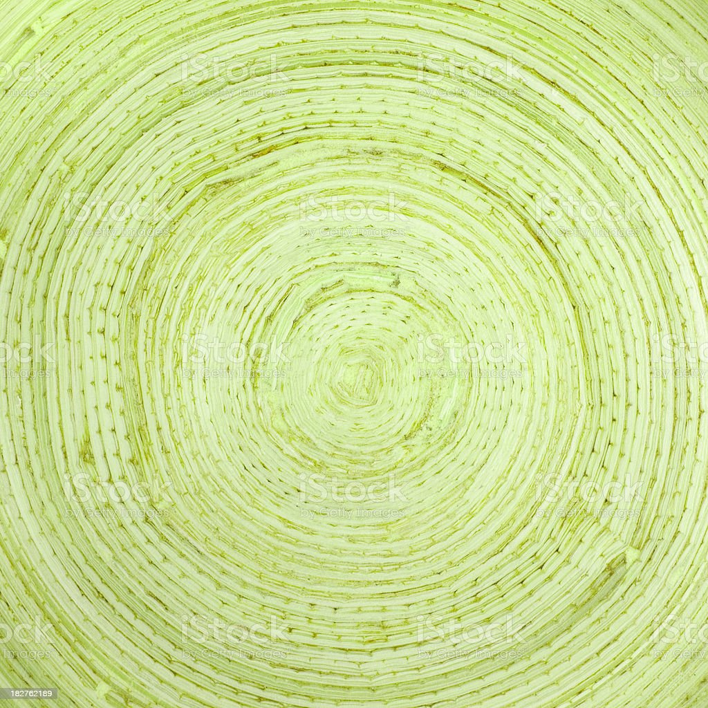 Green concentric circles royalty-free stock photo