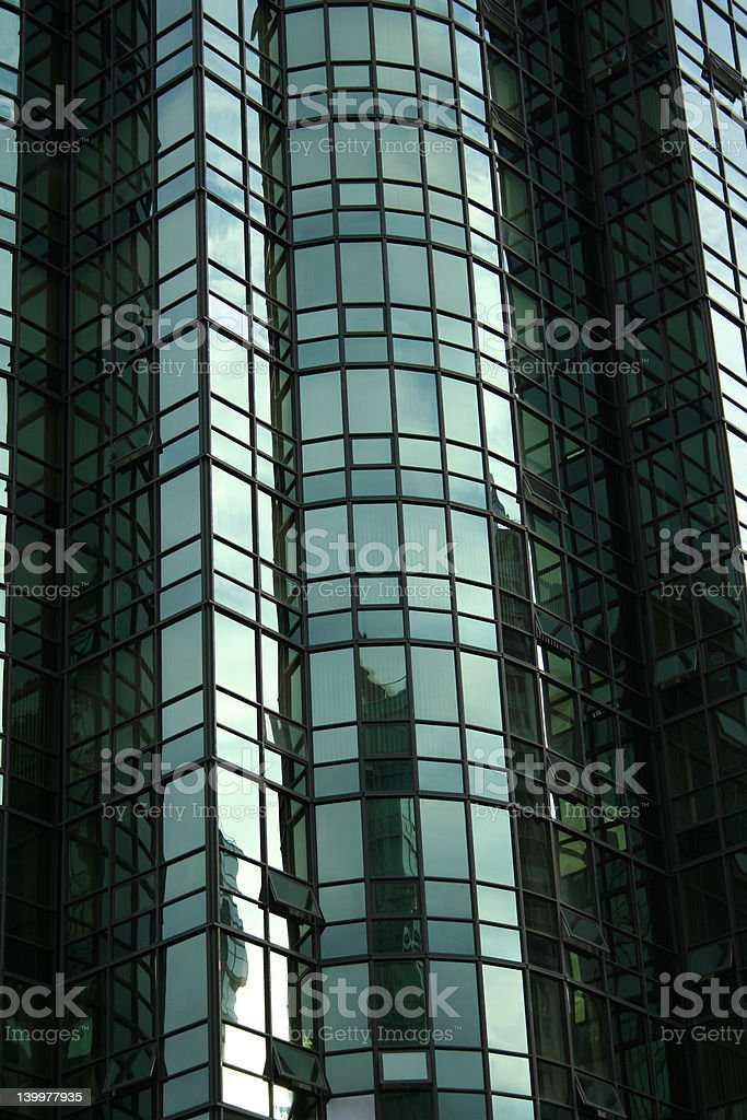 green condo windows background royalty-free stock photo
