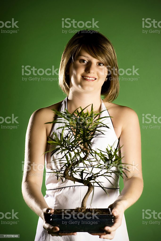 Green conservation royalty-free stock photo