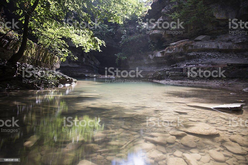 green creek royalty-free stock photo