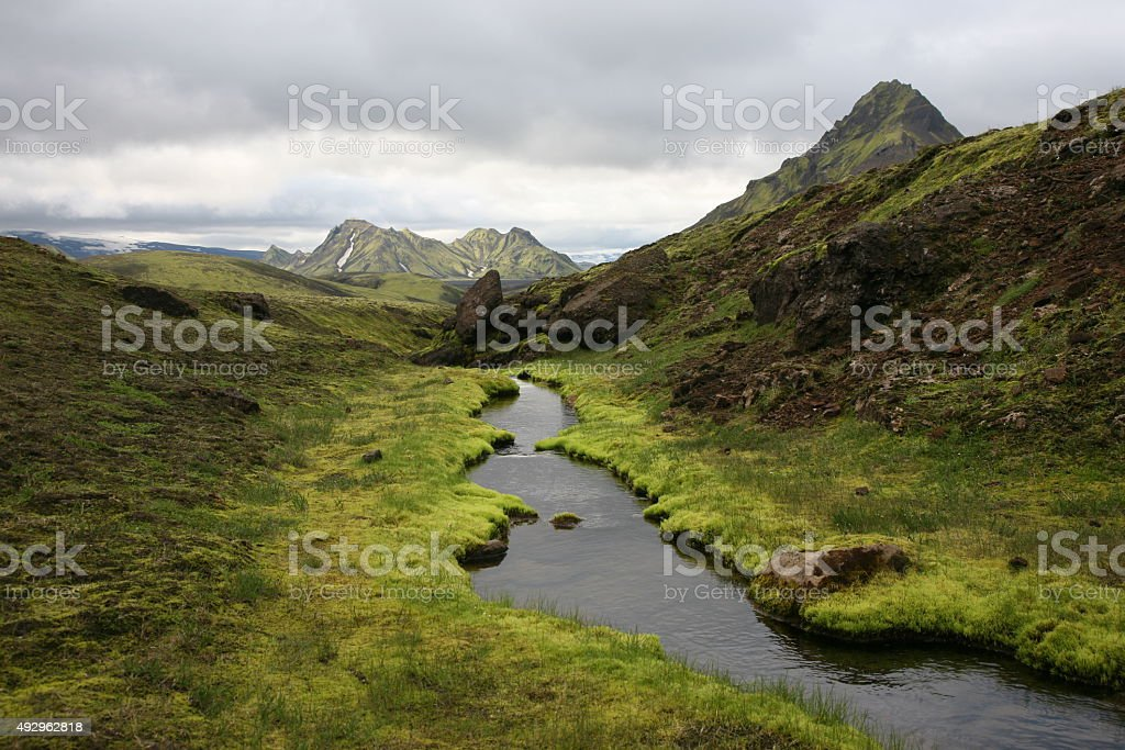 Green Creek stock photo