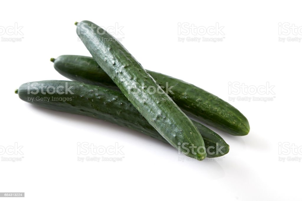 green cucumber vegetable fruits stock photo