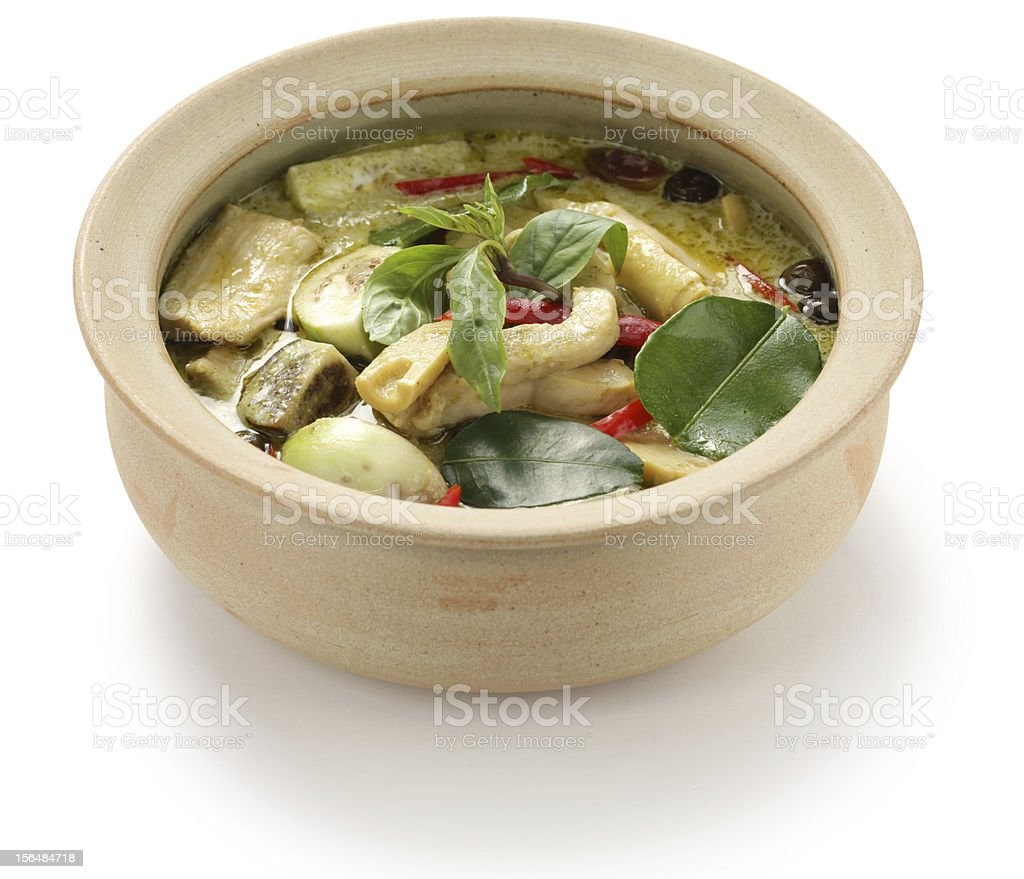 green curry royalty-free stock photo