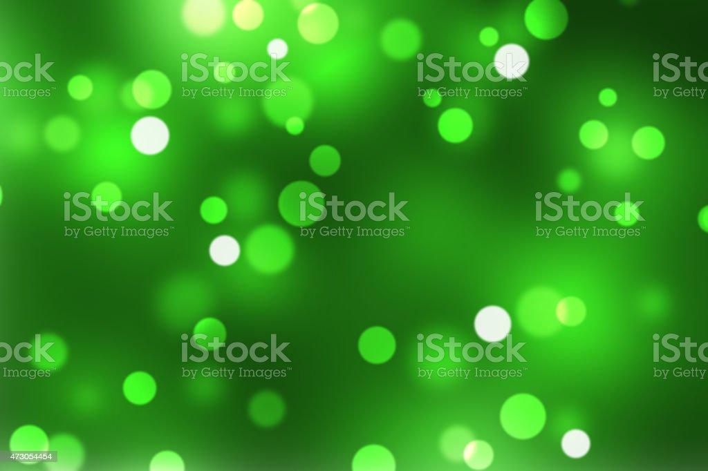 Green Defocusd Gitter BAckground stock photo