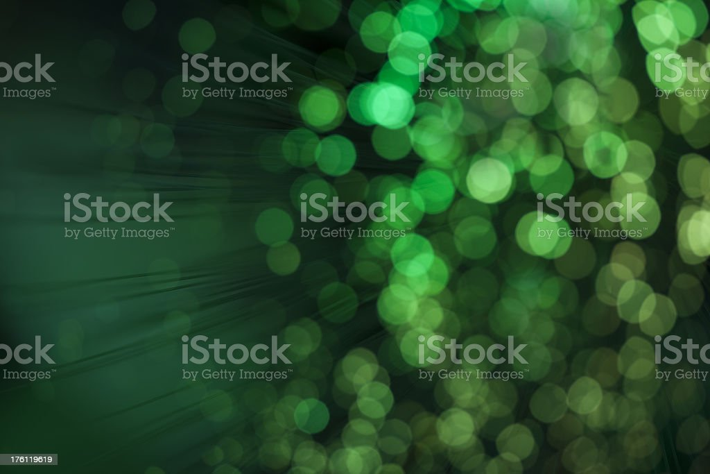 Green defocused Background lights stock photo