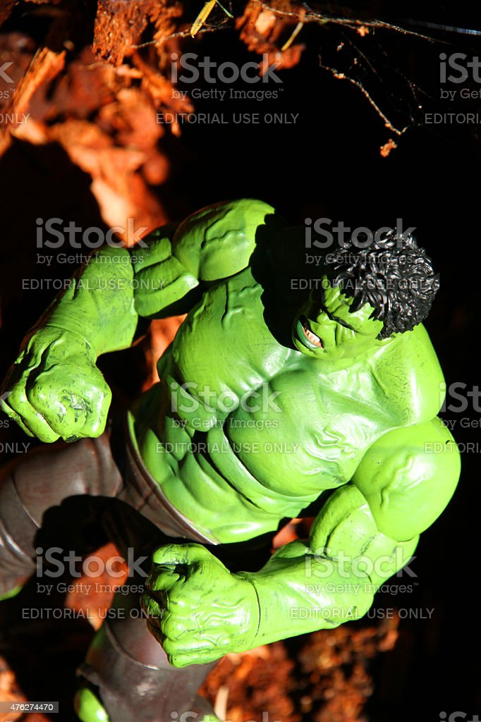 Green Disaster stock photo