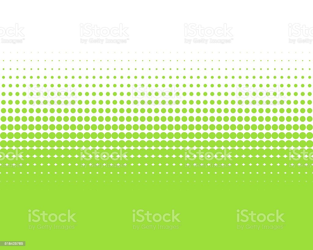 Green dots Background stock photo