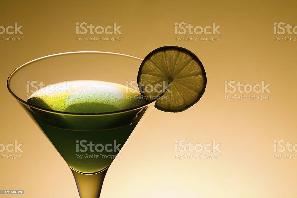 Green drink elegance royalty-free stock photo