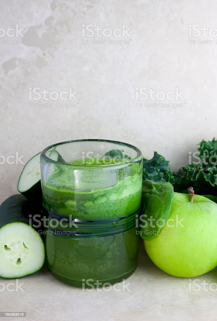 Green Drink stock photo