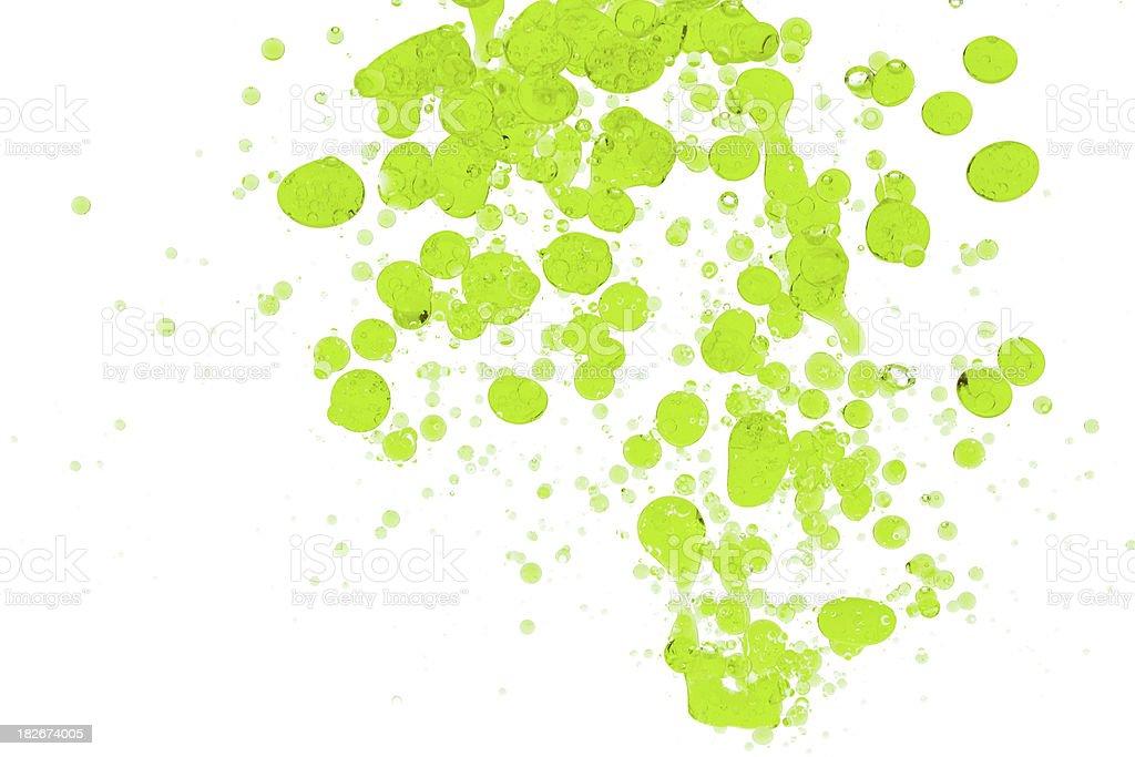 Green Drops stock photo