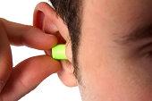 green earplug