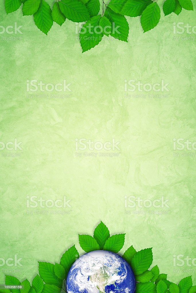 Green Earth royalty-free stock photo