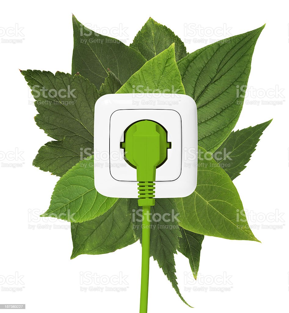 Green energie royalty-free stock photo