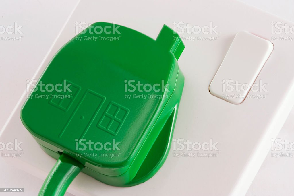 Green Energy Home royalty-free stock photo