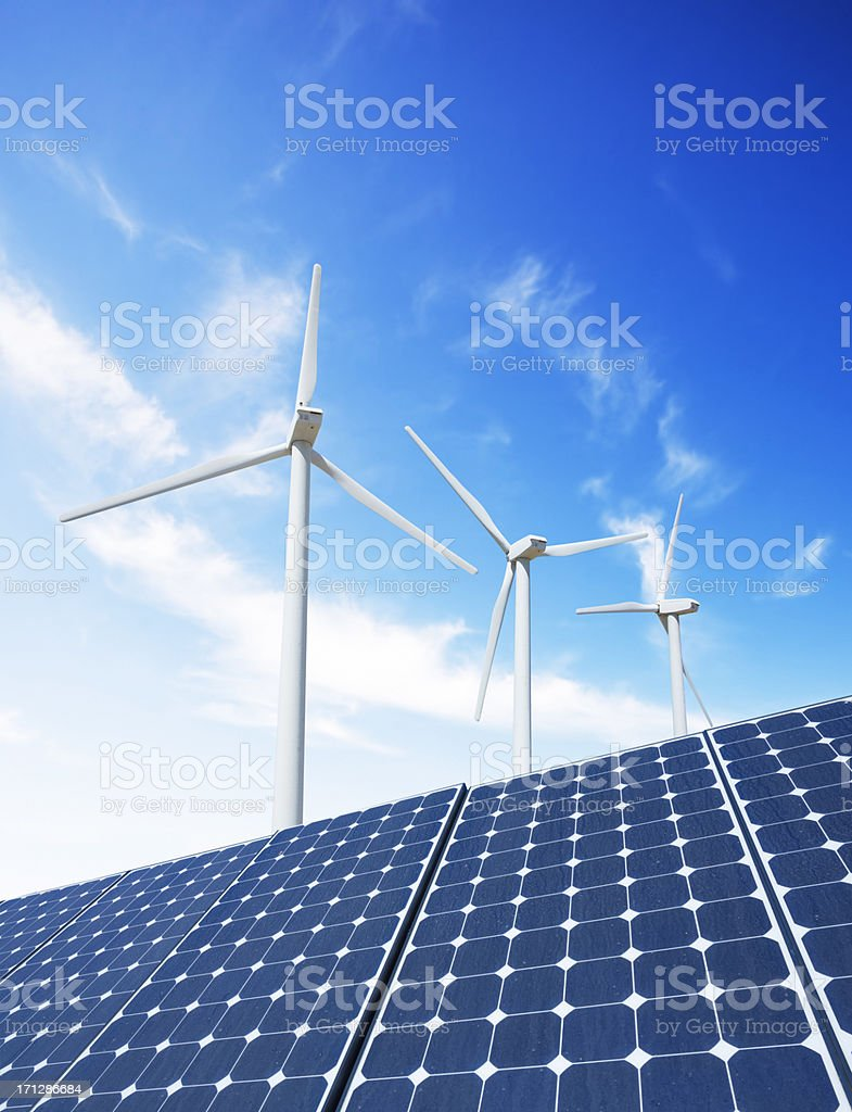 Green Energy royalty-free stock photo