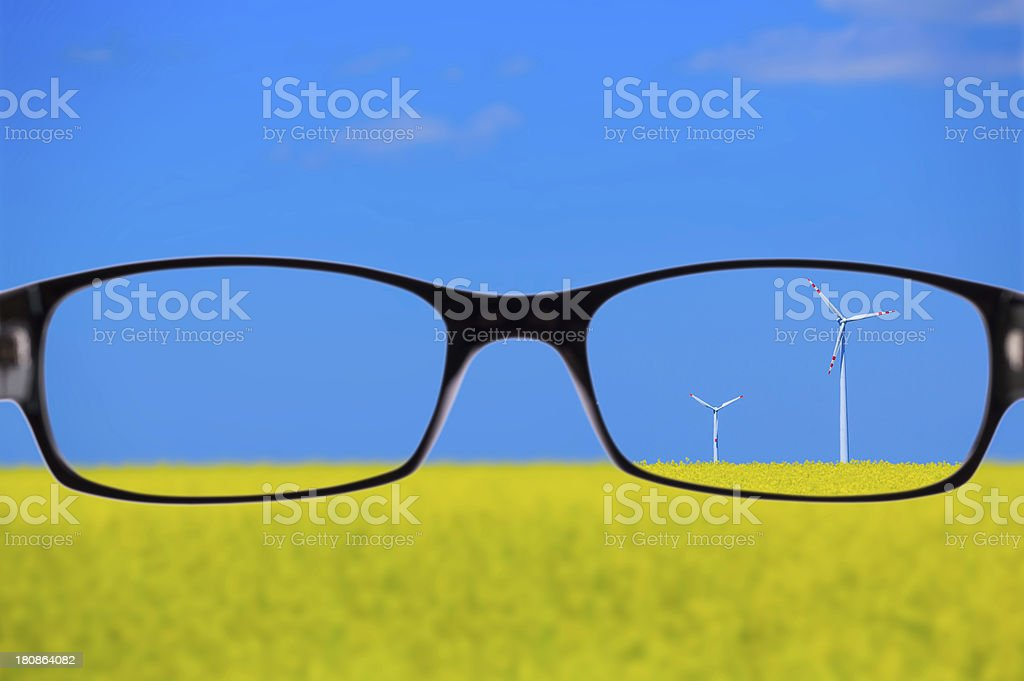 green energy (clipping path) royalty-free stock photo