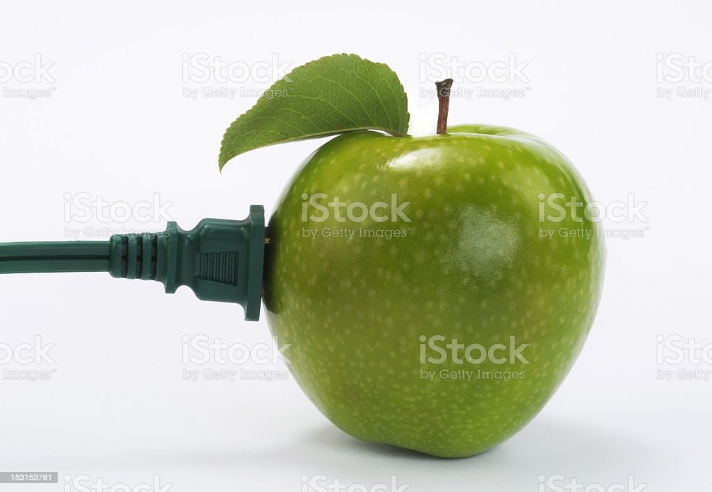 Green Energy Power. royalty-free stock photo