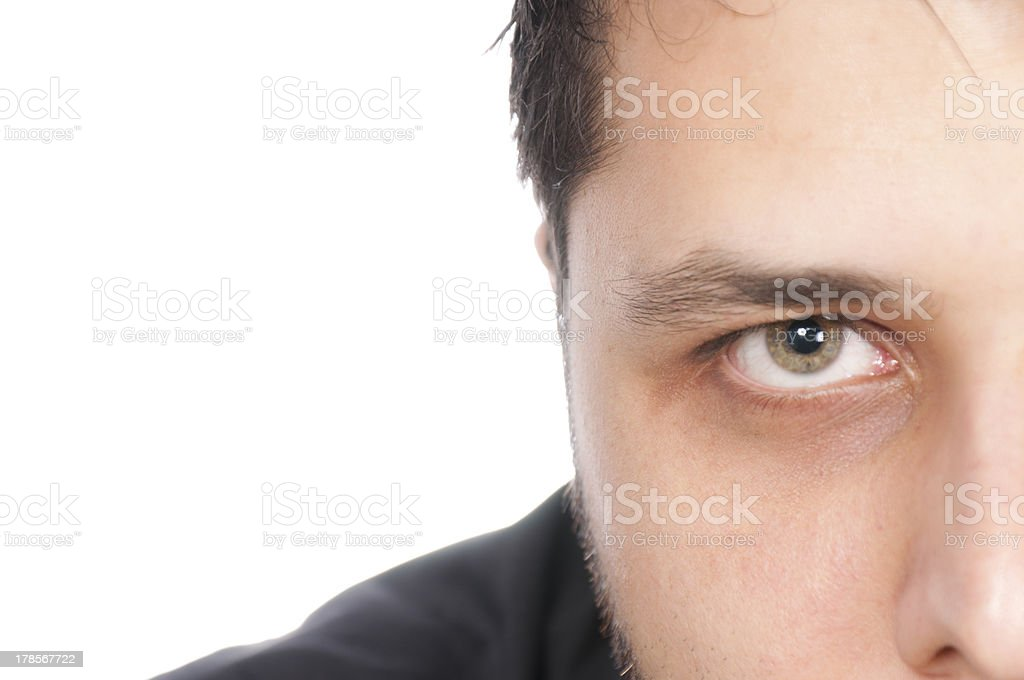 Green eye royalty-free stock photo