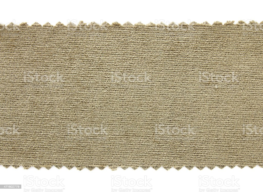 Green fabric sample texture royalty-free stock photo