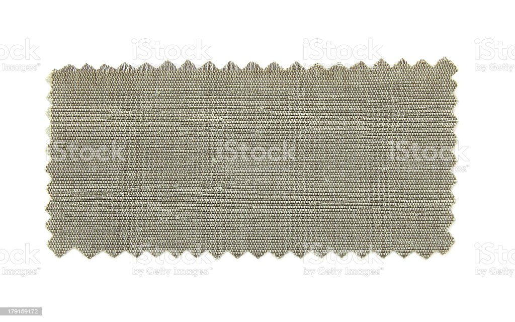 green fabric swatch samples royalty-free stock photo