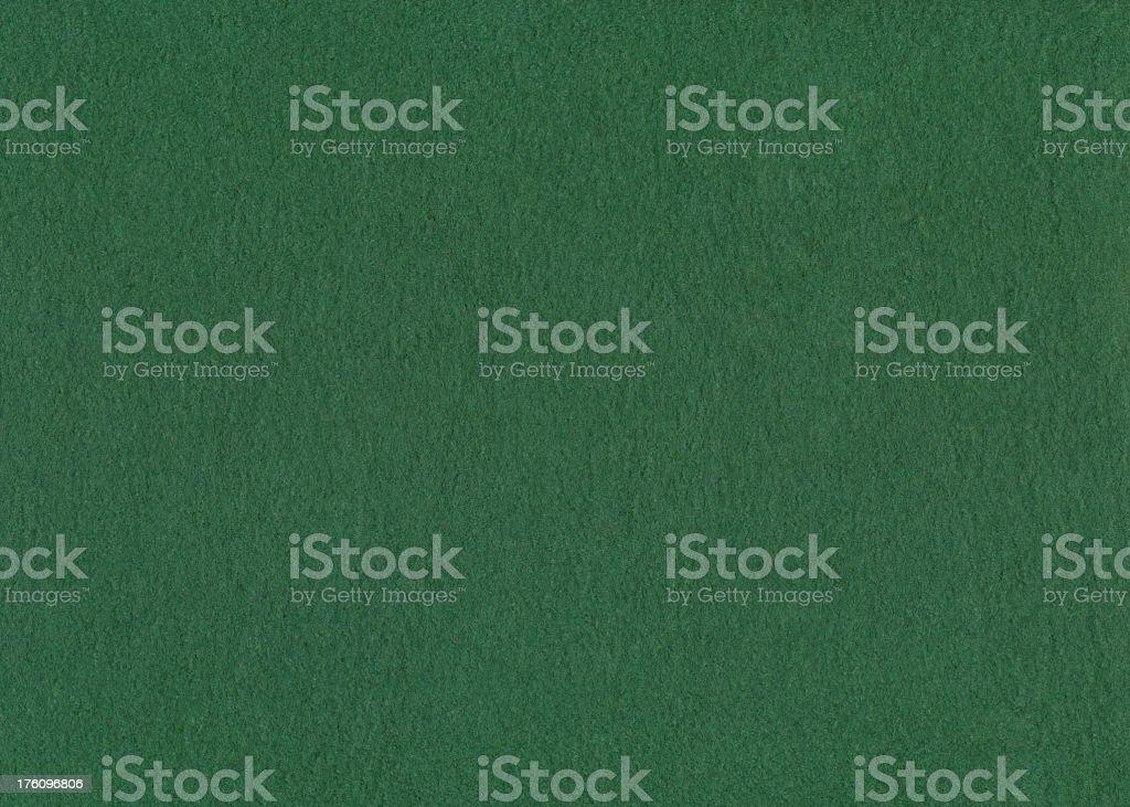 Green felt background XXL royalty-free stock photo