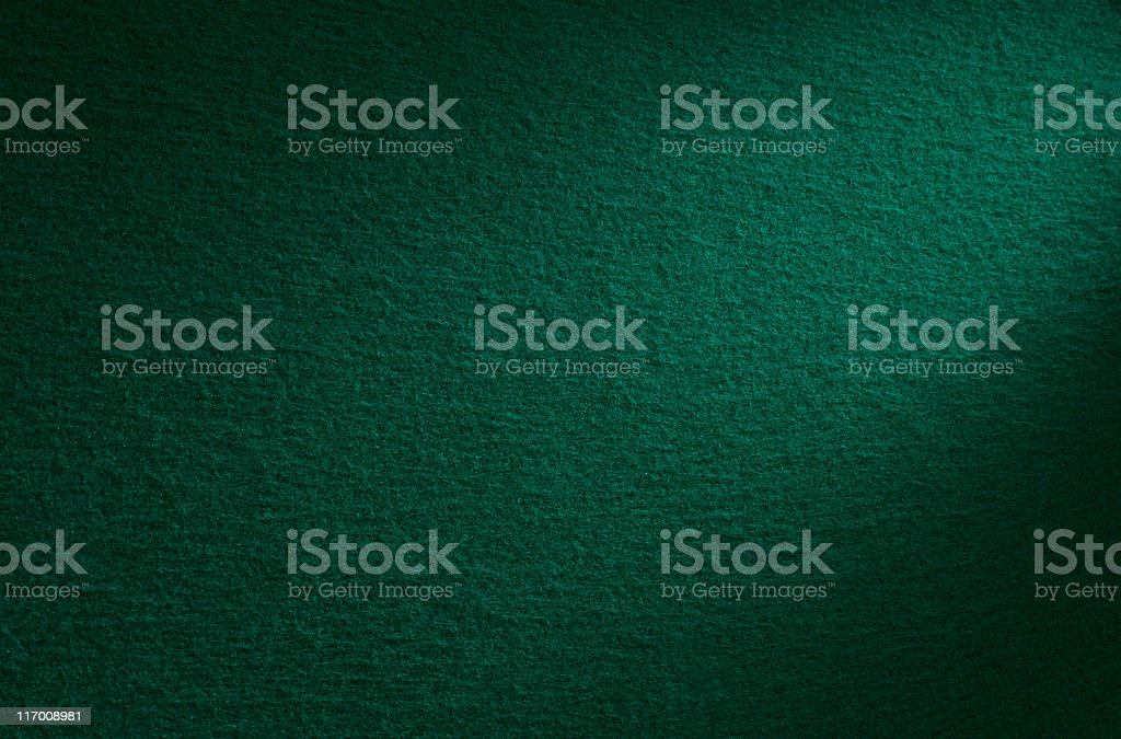 Green felt stock photo