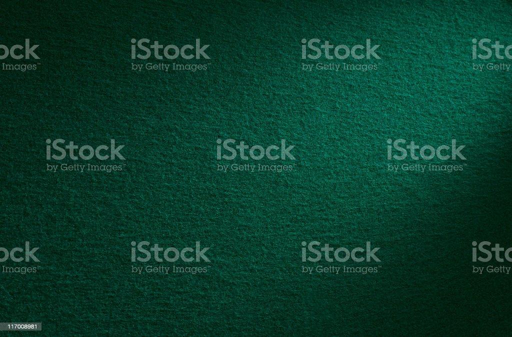 Green felt stock photo