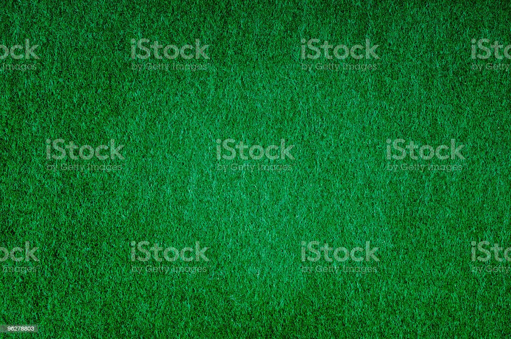 Green Felt royalty-free stock photo