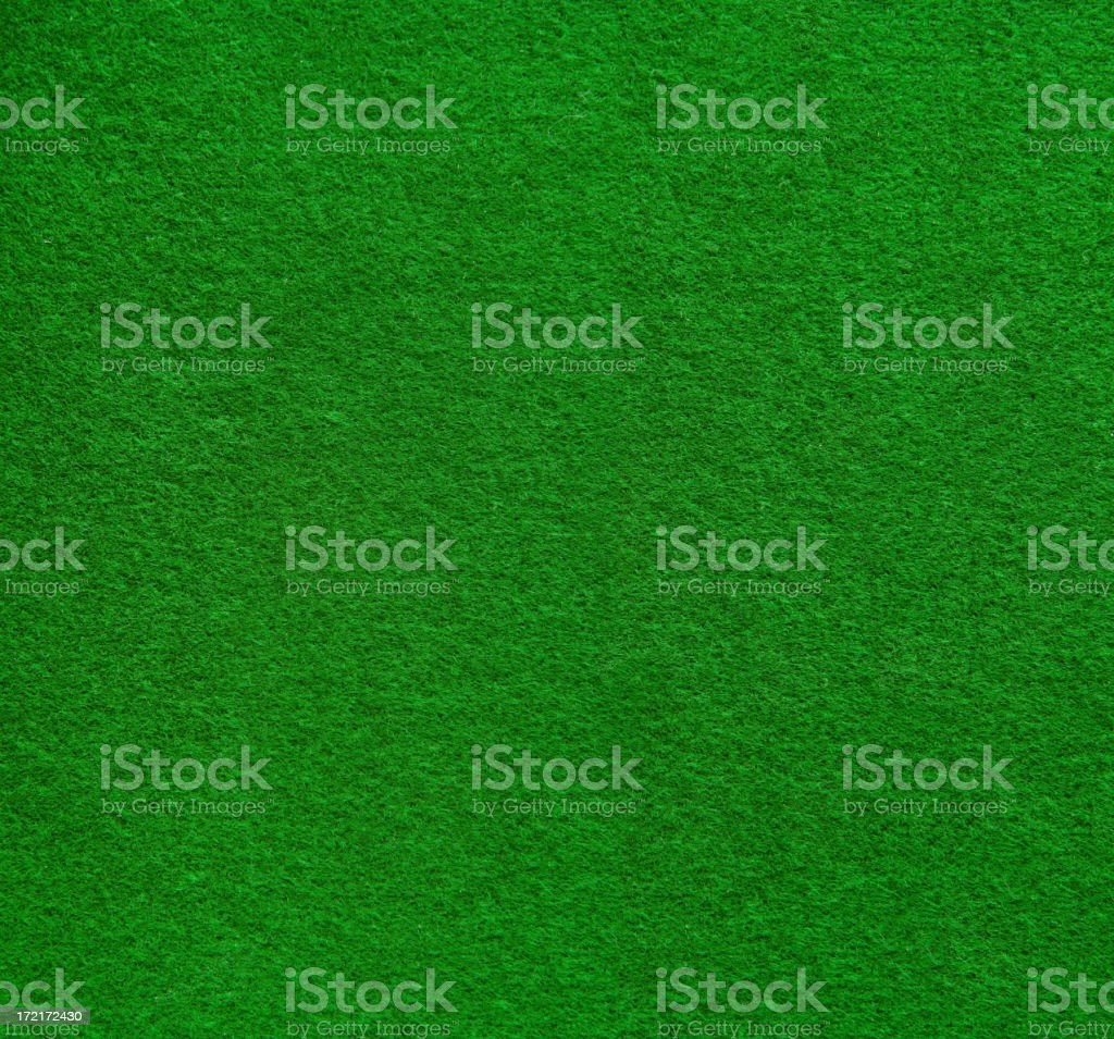 High resolution green felt surface stock photo