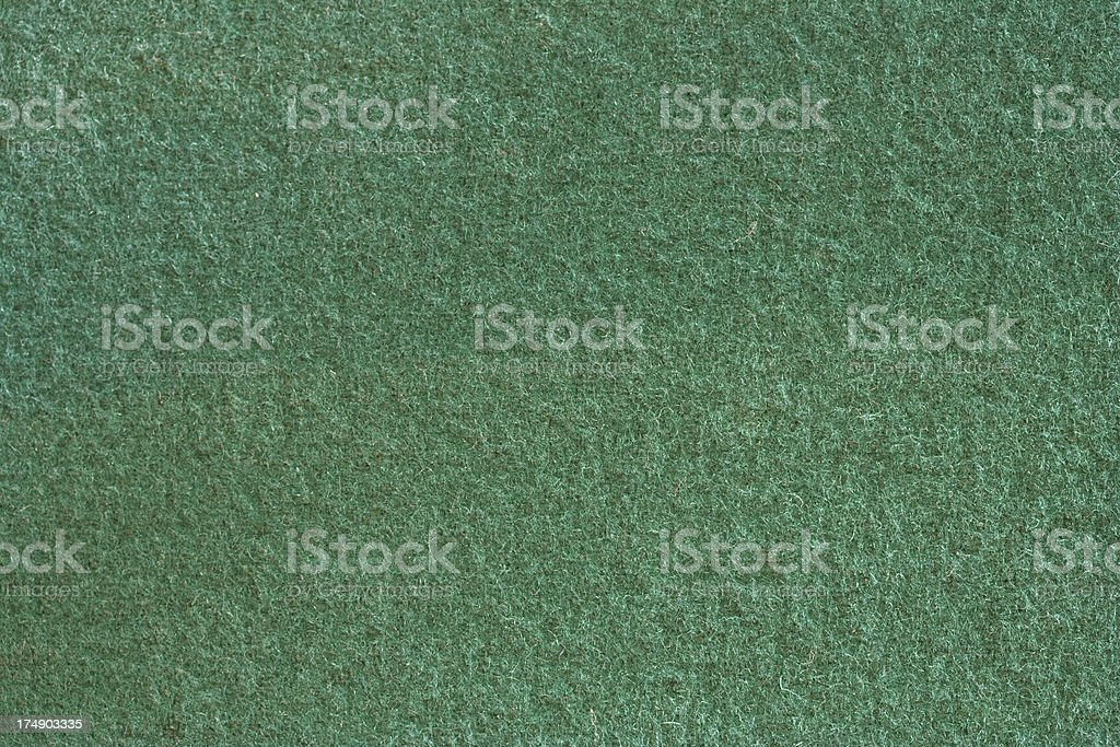 Green Felt Texture royalty-free stock photo