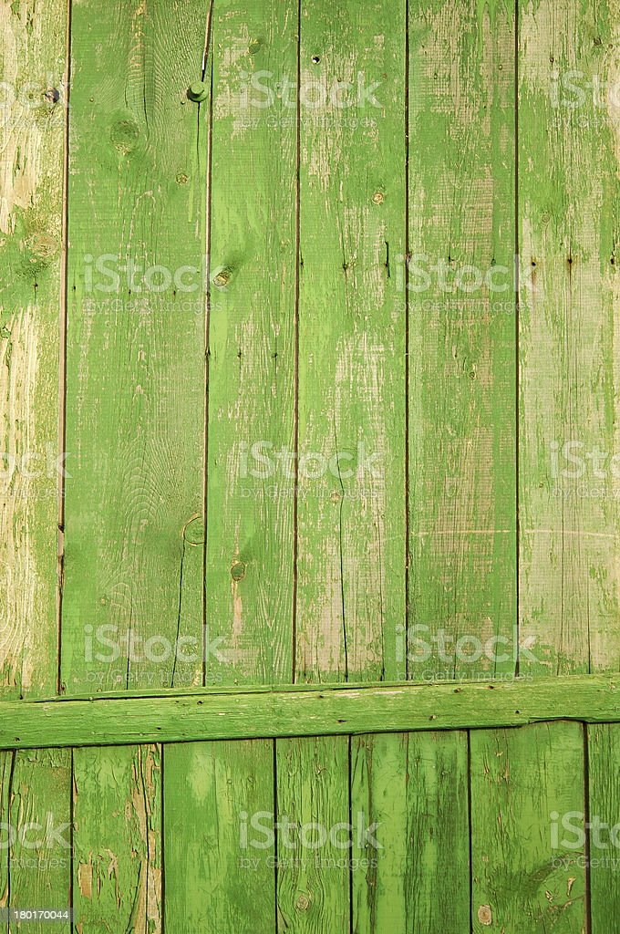 green fence royalty-free stock photo