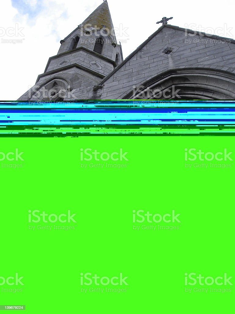 Green Fields of Gweedore royalty-free stock photo