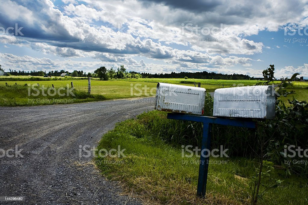 Green Fields Series royalty-free stock photo