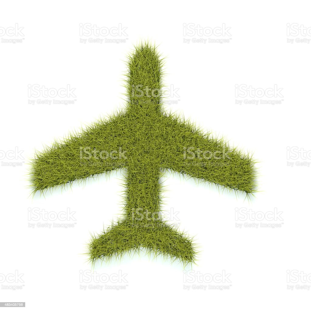 Green flight stock photo