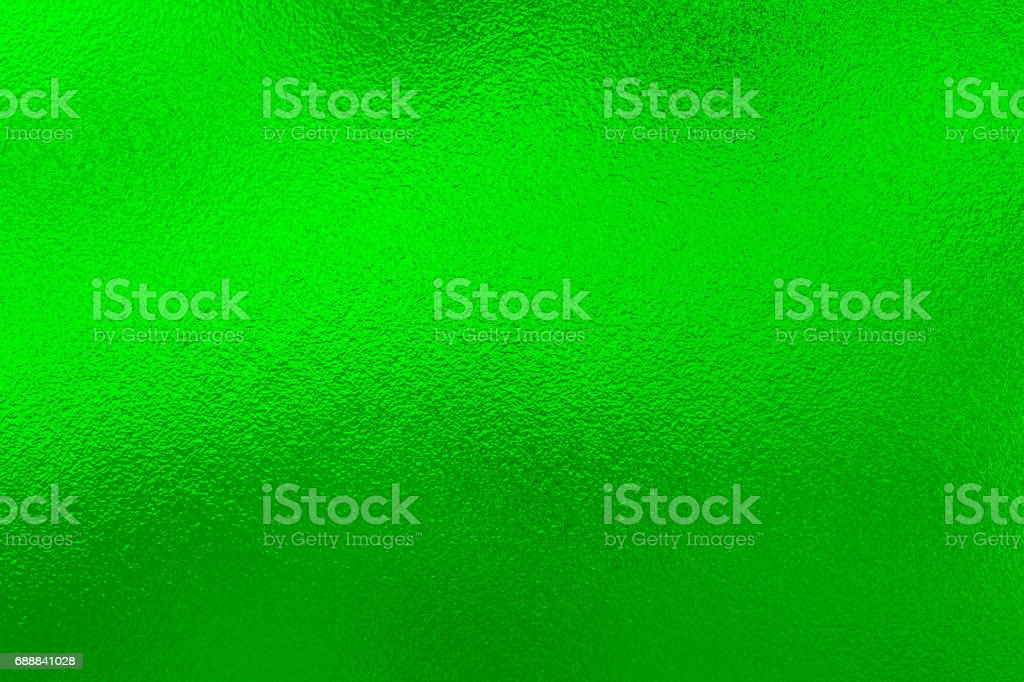 Green foil background stock photo