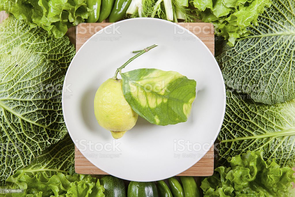 Green food royalty-free stock photo