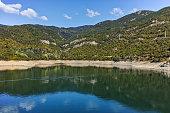 Green Forest around Vacha dam, Rhodopes Mountain, Bulgaria