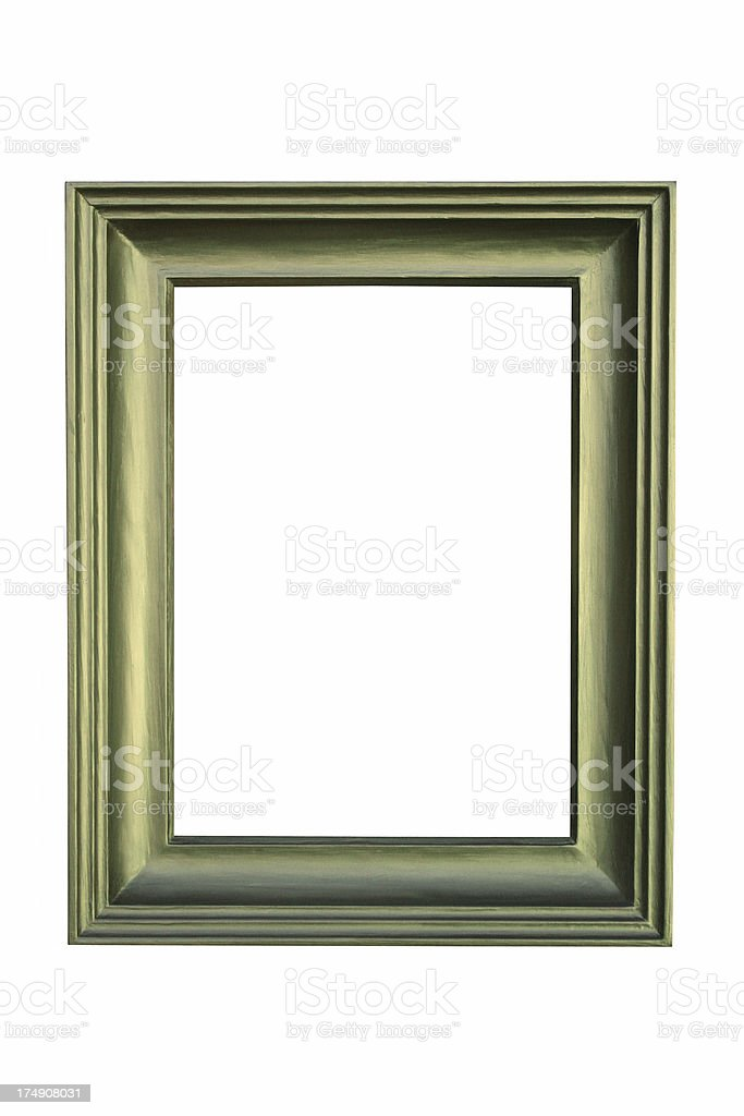 green frame box stock photo
