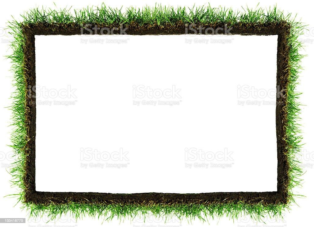 Green Frame royalty-free stock photo