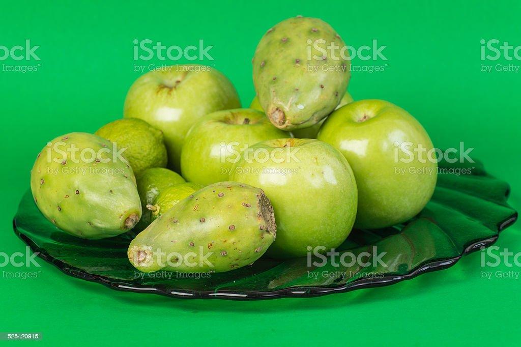 Green Fruit stock photo