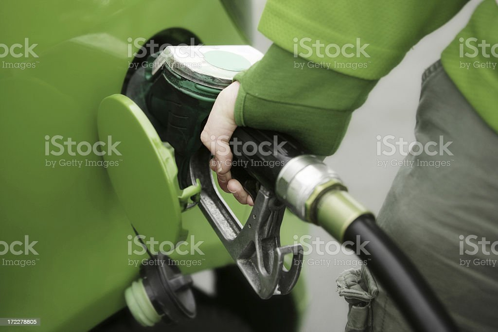 Green Fuel royalty-free stock photo