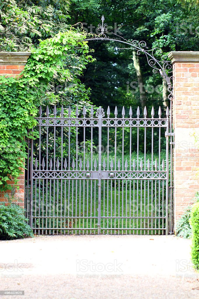 Green Gate royalty-free stock photo