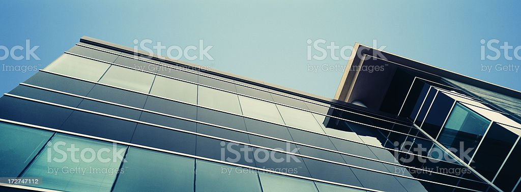 Green Glass Building royalty-free stock photo