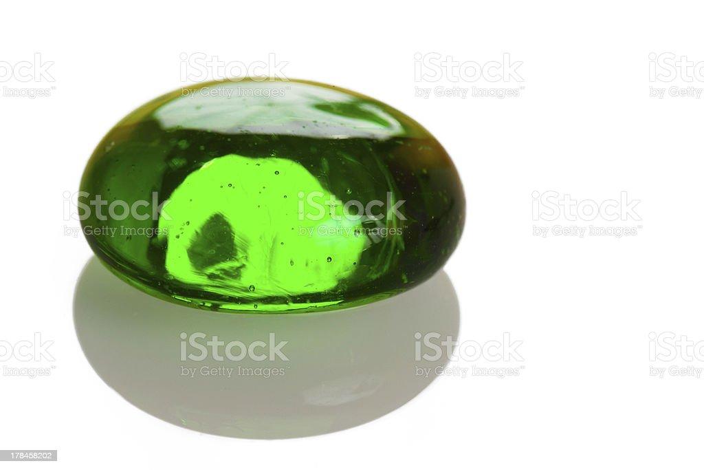 グリーンのガラスの長 ロイヤリティフリーストックフォト