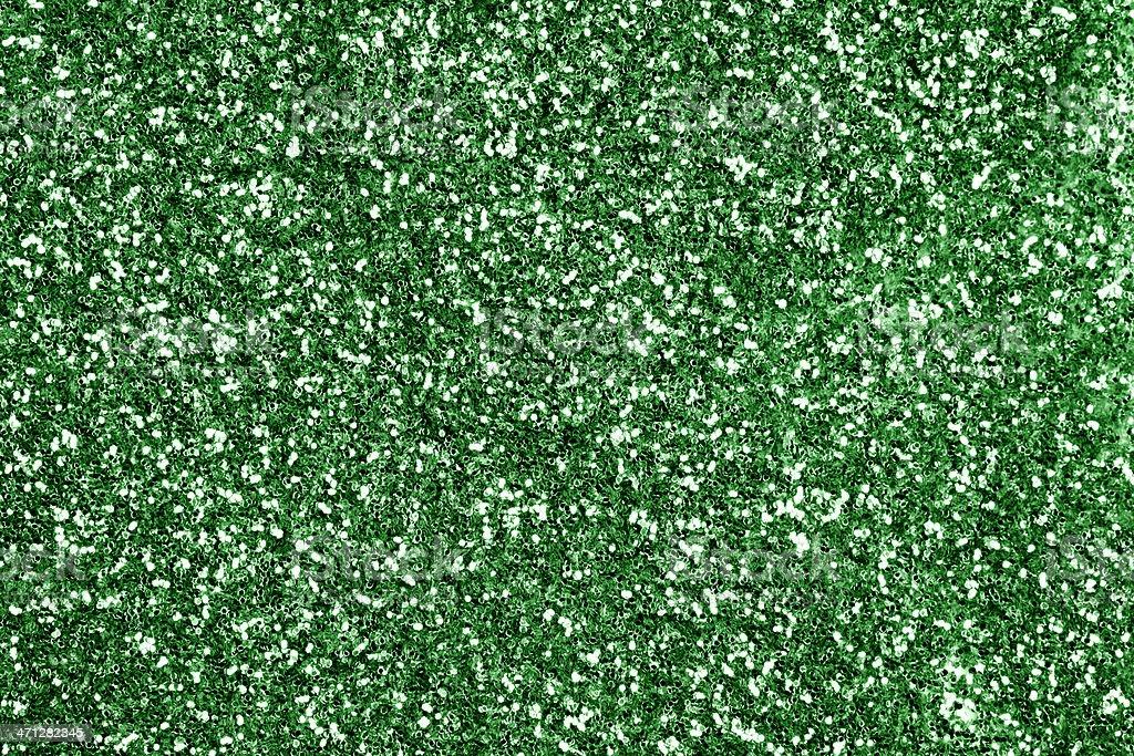 Green Glitter Background royalty-free stock photo